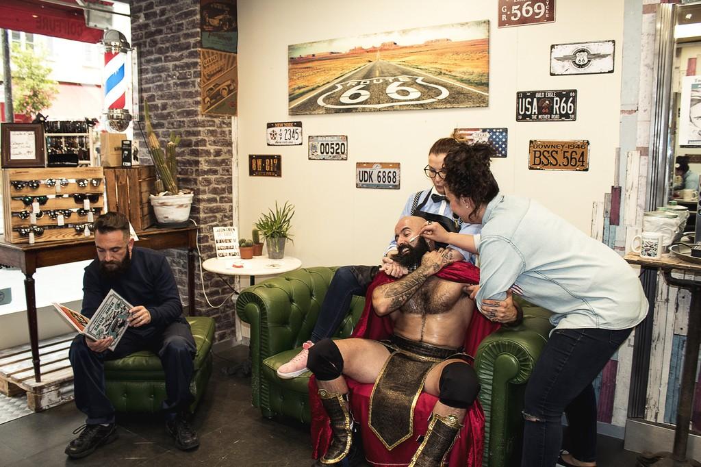 Salon4men coiffure esth tique et barbier nice accueil for Salon esthetique nice